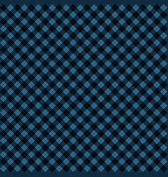 Blue black argyle harlequin seamless pattern vector