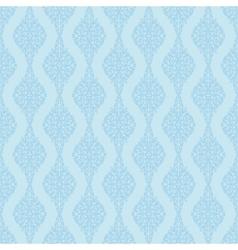 blue vintage pattern vector image