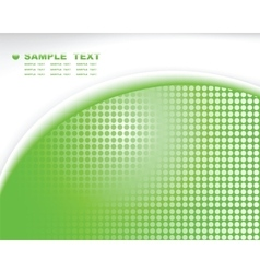 green tech abstract background composition vector image