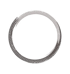 grunge tire element vector image