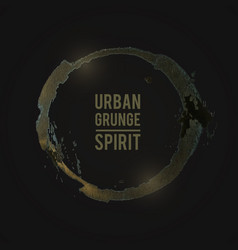 grunge-yellow vector image