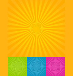 ray backgrounds vector image