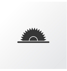 sawmill icon symbol premium quality isolated vector image