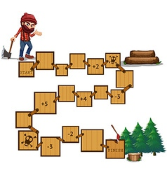 Boardgame vector image vector image