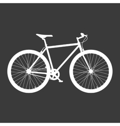 Bicycle poster quality vector image vector image