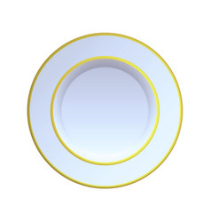 china plate vector image