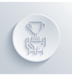 modern light award icon vector image