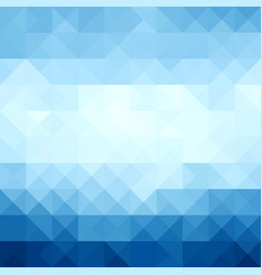 Abstract modern geometric blue backgroundblue vector