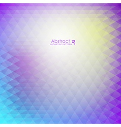 Abstract purple geometric pattern vector