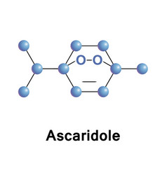 Ascaridole is a bicyclic monoterpene vector