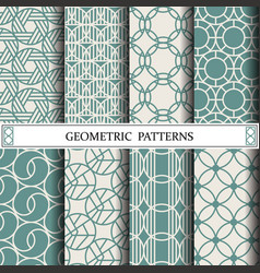 circle geometric patternpattern fills web page vector image