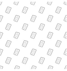 gadget charging battery icon outline style vector image