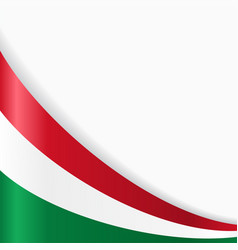 Hungarian flag background vector