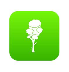 Linden icon digital green vector
