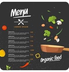 Modern background for restaurant menu vector
