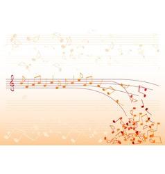 orange notes vector image