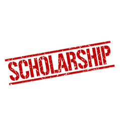 Scholarship stamp vector