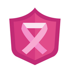cancer ribbon icon vector image