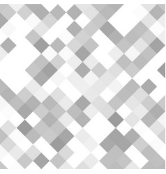 Grey square pattern background from diagonal vector