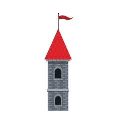Medieval castle design vector