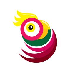 Parrot design vector