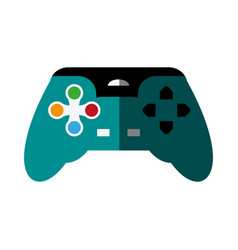 Videogame controller icon image vector