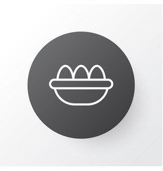 eggs icon symbol premium quality isolated ovum vector image vector image