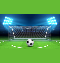 soccer football championship background vector image vector image