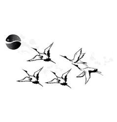 bird watching vector image
