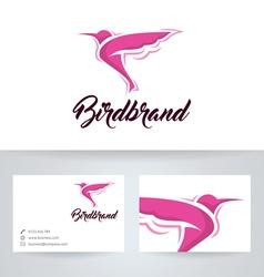 Bird Brand vector