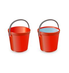 Buckets set flat bucket vector