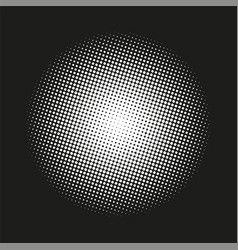 Circle gradient halftone dots background template vector