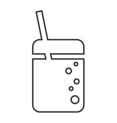 Coke soda drink design vector