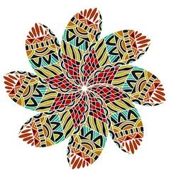 Geometric circle element vector image