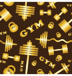 Gym Seamless pattern vector