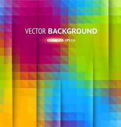 Multi Coloured Mosaic Background vector