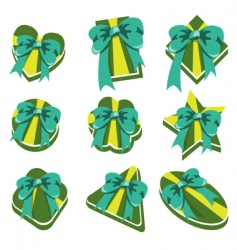 present box's vector image