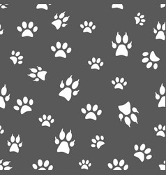 seamless pattern and background with icons vector image