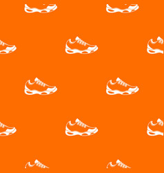 sneakers for tennis pattern seamless vector image