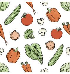 vegetarian background paleo diet nutrition vector image