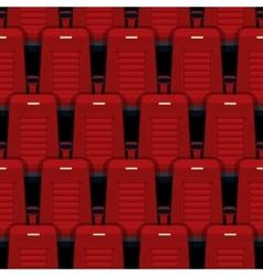 Cinema seats seamless background vector image vector image