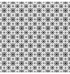 net lace with flowers vector image