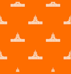 capitol pattern seamless vector image
