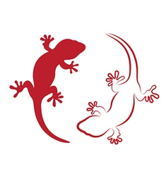 image of an gecko vector image