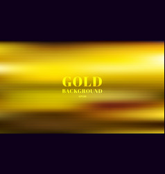 abstract gold blurred gradient style background vector image