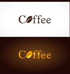 Coffee company logo vector