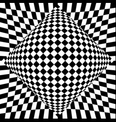 Contrasty checkered background abstract surreal vector