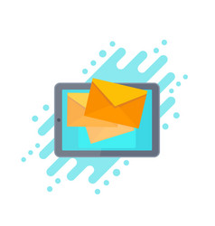 incoming messages email marketing vector image