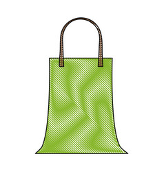 Recycle bag isolated vector