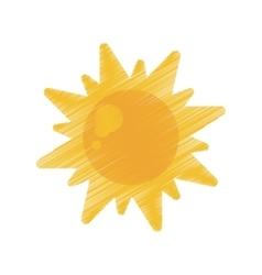 Sun energy natural symbol design ed vector